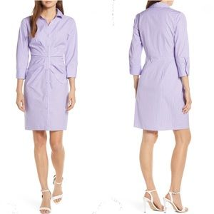 Vince Camuto Button Front Shirtdress in Purple 14